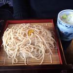 新宿 そば蔵 - 冷たい柚子そば