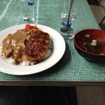 だるま食堂 - カツカレー500円