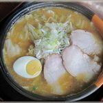 なかまち食堂 - 料理写真:信州味噌野菜ラーメン