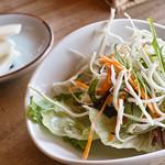 カレーカフェ はひふ - サラダ