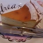 アニバーサリー - お店でチーズケーキたべた