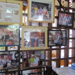 奥会津 - 有名人の写真が沢山ありました