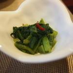 中華料理 大福園 - つきだし 2014年8月
