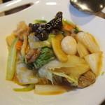 中華料理 大福園 - 八宝菜 2014年8月