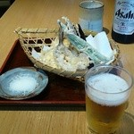 29860596 - めごちの天ぷら700円