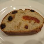 ISHIDA - 自家製パン ドライフルーツとクルミのライ麦パン