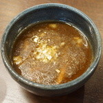 麺や真登 - 特製つけめんのつけ汁