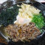 人力うどん - 料理写真:スタミナうどん510円