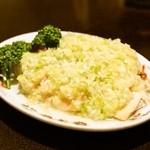 菜香新館 - 2014.8 蒸し鶏のねぎしょうがソースかけ(1,500円)