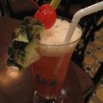 Long Bar - シンガポールスリング 25$