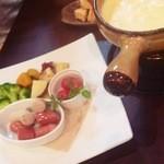 29865974 - チーズフォンデュwith野菜