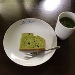 イルマーレ - 抹茶シフォンと屋久抹茶グリーンティ
