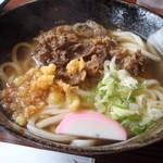 うどん坊みさき - 料理写真:肉うどん 630円