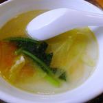 29868204 - 中華定食付属のスープ