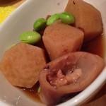29868325 - 僕は前夜、夢に出て来た里芋とイカの煮物にありつけた♬