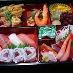 かんぱち鮨 - 料理写真:出前で頼んだメニュー