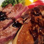 ナニワエン - フォアグラ&ステーキ丼を試してみて!