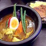 kanakoのスープカレー屋さん - ナチュラルのチキン