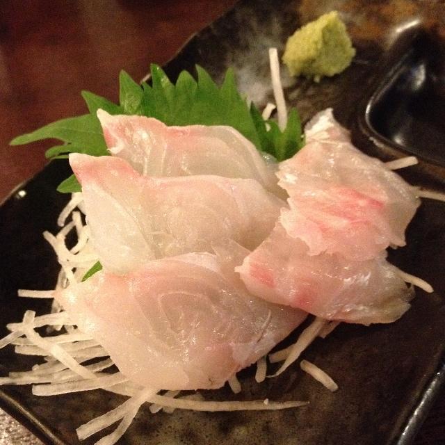 フルミチ  - 天然!真鯛刺身(300円)2014年8月