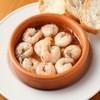 ウオバル - 料理写真:人気の海老のアヒージョ
