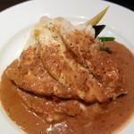 銀座サンジューシー - 若鶏の蒸し焼き マスタードソース大宮スタイル