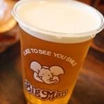 佐世保バーガー BigMan - 生ビール♪