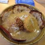 蔵出し味噌 麺場 田所商店 - 九州味噌炙りチャーシュー麺¥1000+税