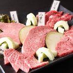 肉盛合せ(5種)
