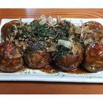 蛸蔵・八眞 - 料理写真:ソースたこ焼き(8個500円)
