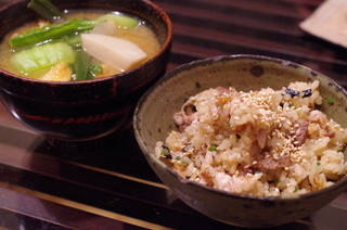 たべごと屋のらぼう - 秋刀魚ご飯