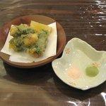 駄々 - 白身魚しそ巻き天ぷら
