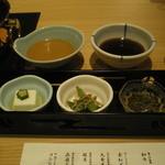 すき焼 藤尾 -  前菜です。