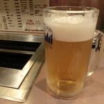 わっしょい - 2014' 8/16 生ビール 540円