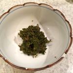 食事処すえき - 山椒の佃煮