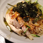 29884593 - 蒸鶏ユッケジャン麺