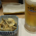 29884806 - 静岡限定のサッポロ静岡麦酒とお通し