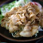 やまと食堂 - 料理写真:豚しょうが焼き~☆