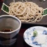志蕎庵 江月 - 蕎麦三昧の最初は十割そば
