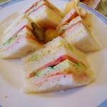 デセールカワウチ - サンドイッチ