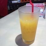 ルージュトマト - オレンジジュース