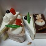 ローリエ末広屋 - 料理写真:ケーキたち