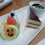 スイーツリングカフェ - デザート3種