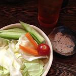 やきとり遊 - 料理写真:付出し野菜スティック