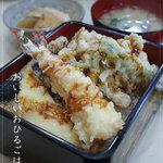 串天用高 - 12/2 天丼¥650-