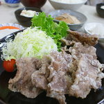 串天用高 - 12/2  豚から揚げ定食¥850-