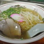 焼肉さわ - さわ・醤油ラーメン¥500(2014.06)