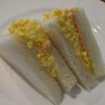 ボンジュール - 玉子サンド