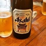金陵 - 2014.8 瓶ビールは中華街仕様