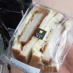 ローソン - 料理写真:まちかど厨房 厚切りカツサンド 379円
