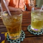 こひさまコーヒー - ゴーヤ茶、さんぴん茶2014.08.13